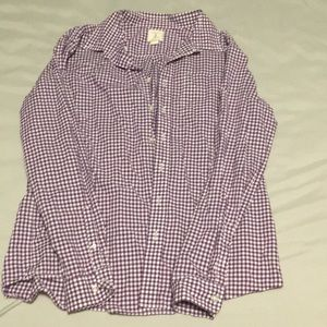cce21e49349ba Lands  End Shirts   Tops - Boys plaid button down shirt